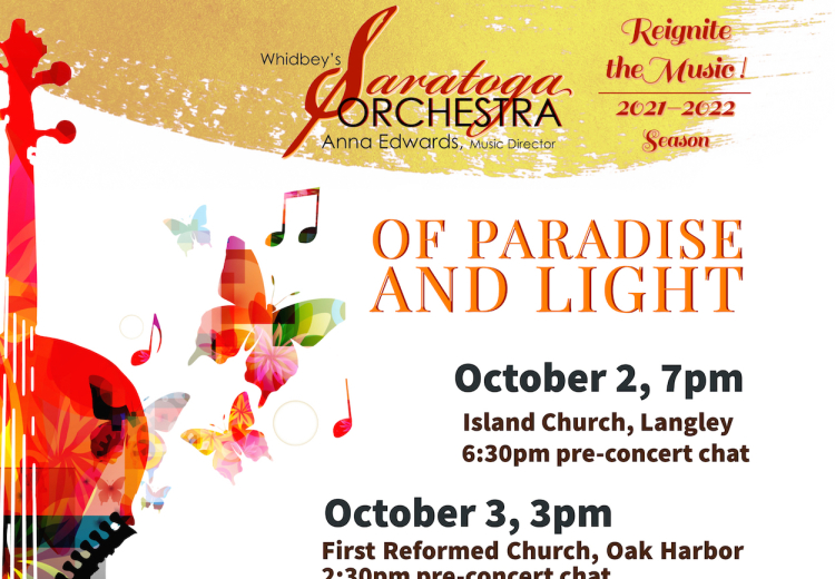 Saratoga Orchestra's OF PARADISE AND LIGHT