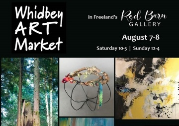 Whidbey Art Market at the Red Barn Gallery