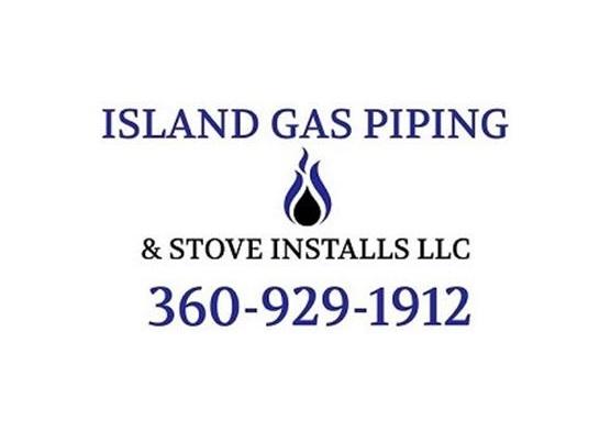 Island Gas Piping & Stove Installs