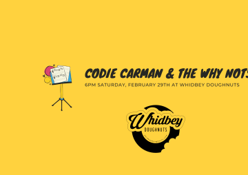 Sat Feb 29th 6PM - Codie Carman and the Why Nots