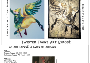 Twisted Twins Art Expose: A Curio of Animals