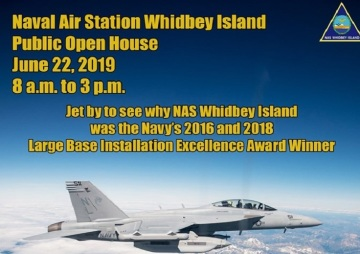 NAS Whidbey Island will host its annual open house for the public