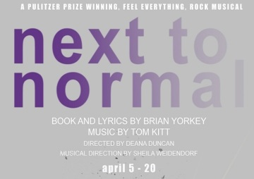 Next to Normal A Feel-Everything Rock Musical