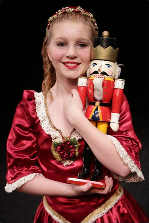 Tessa Sherman as Clara in WIDT's 'Nutcracker.' (Michael Stadler photos)