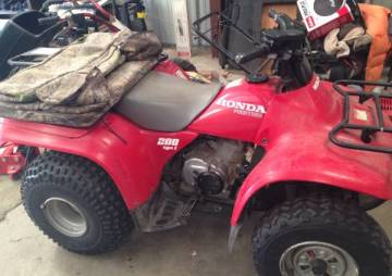 4 WHEELER FOR SALE - $900 (Oak Harbor)