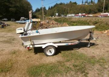 Boat and trailer - $750 (Clinton on beautiful whidbey island)