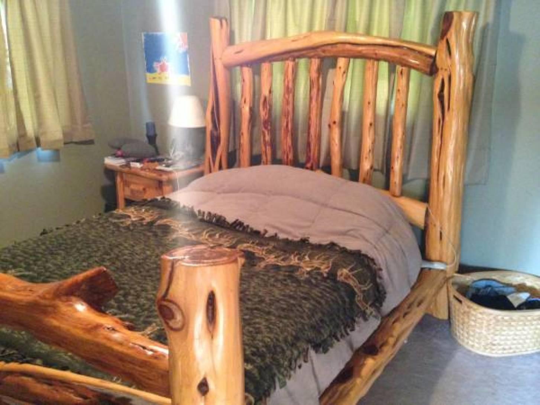Custom Eastern Red Cedar Bed Frame - $750 (Oak Harbor)