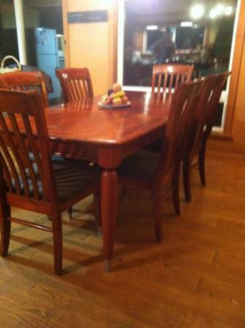 Large Dining Table - $75 (Clinton, Whidbey Island)