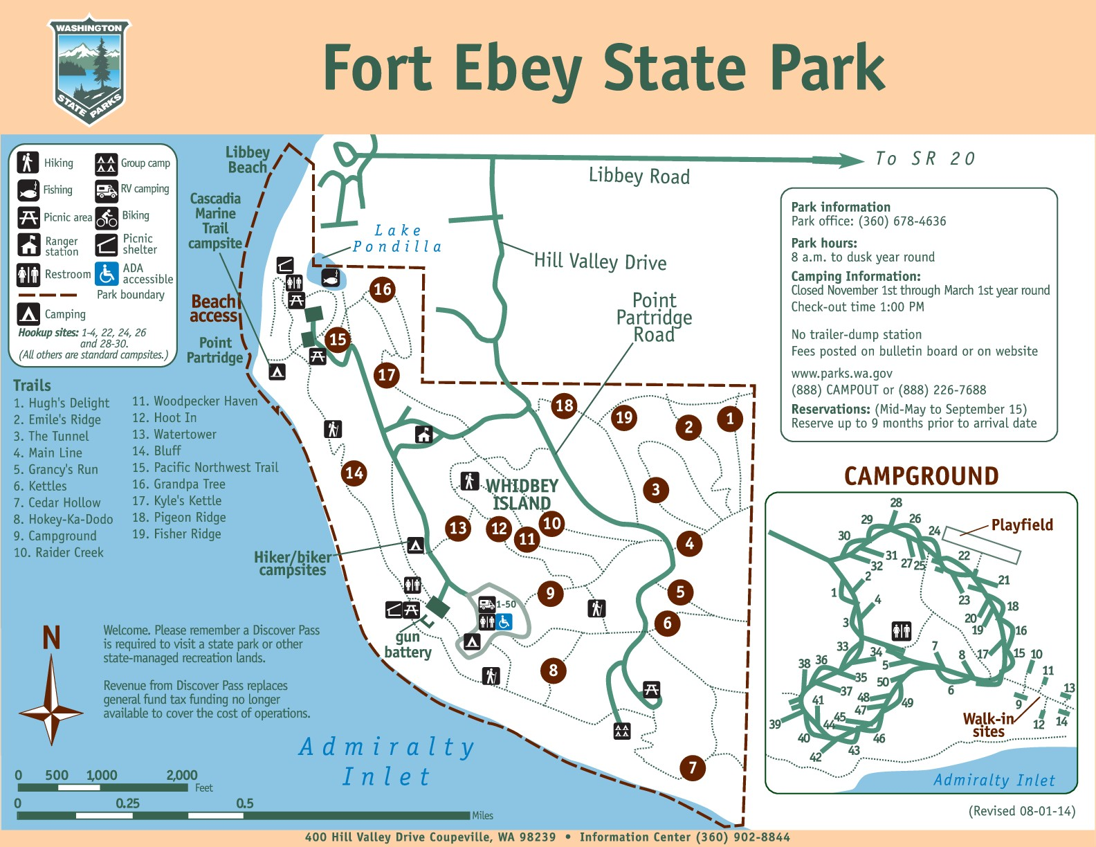 Whidbey Island Whidbey Island State Park Maps Yabsta